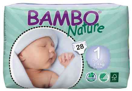 Bamboo Nature Diapers