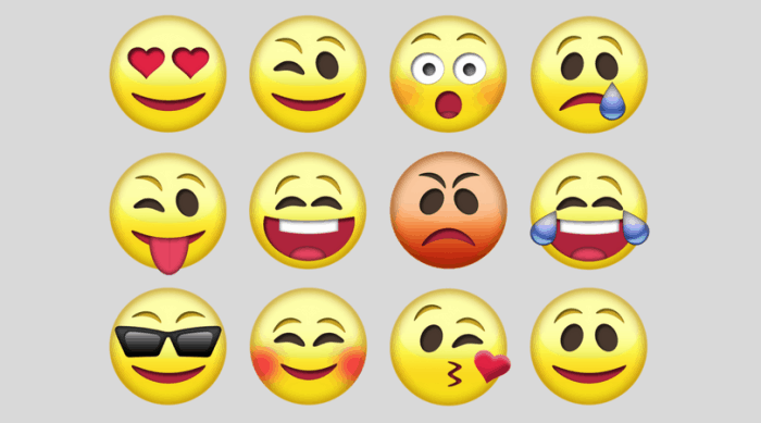 speech therapy facial expressions emojis