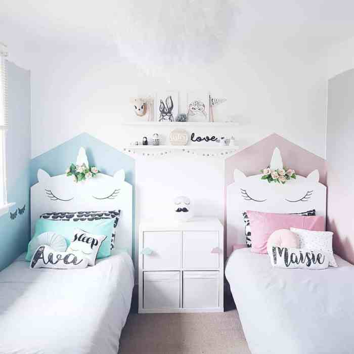 Unicorn bedrooms your child will fall in love with twin for Cuarto de unicornio