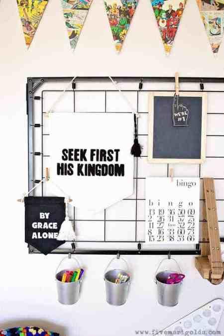 DIY Kids Decor Crib Springs