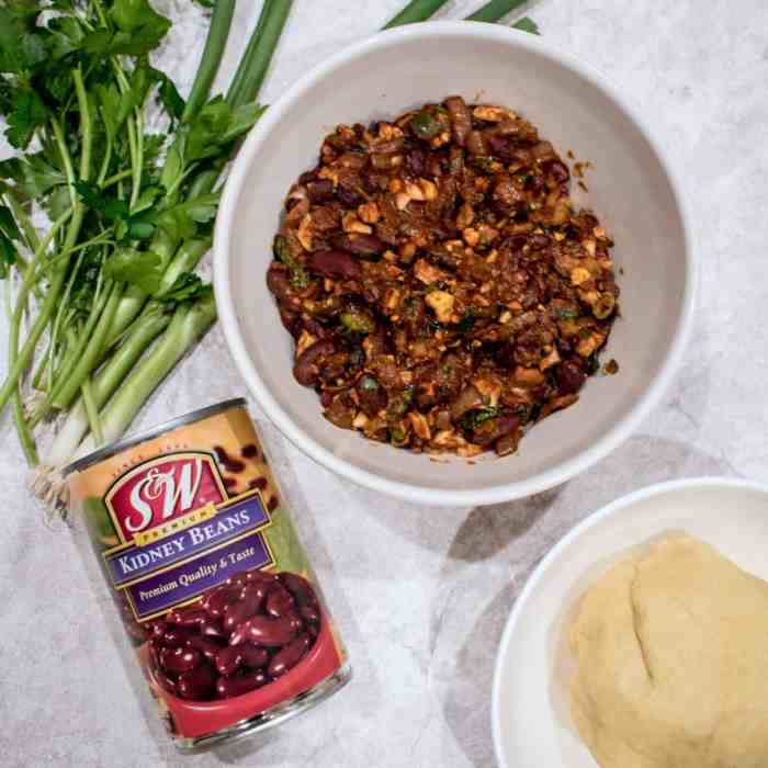 The Ultimate Vegetarian Empanada Bean Mix