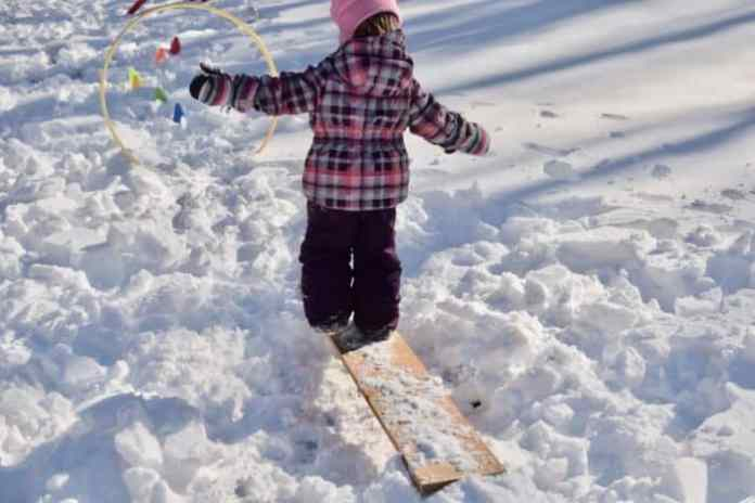 snow-obstacle-course