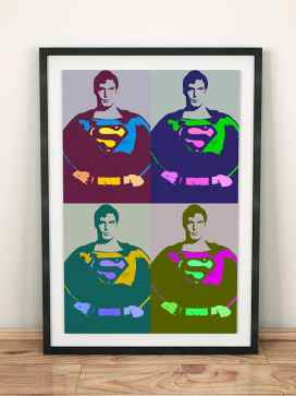 Warhol Inspired Superman