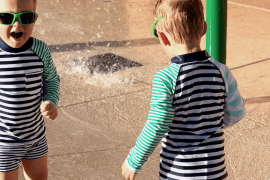 Dealing with the Anxiety of Twins Loose in Public