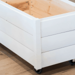 How To Build A Farmhouse Style Diy Toy Box With Shiplap Twin Pickle