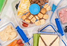How to make healthy back to school lunches easy with Sistema To Go Salad Boxes