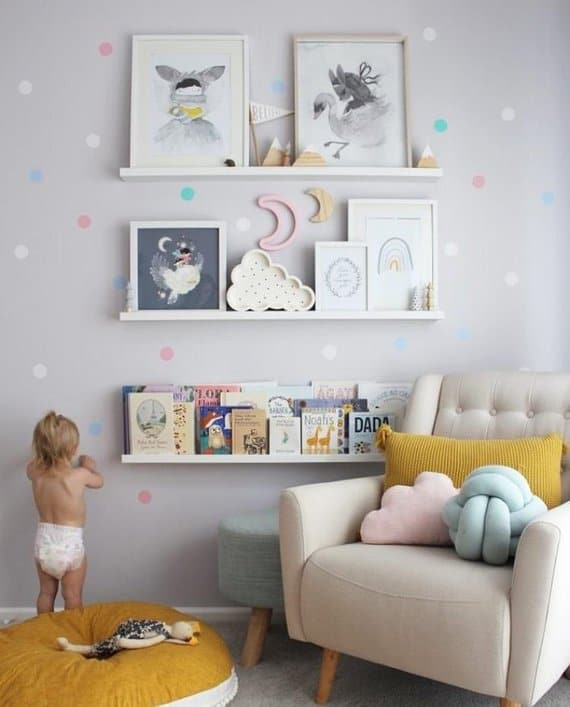 pastel wall decals nursery