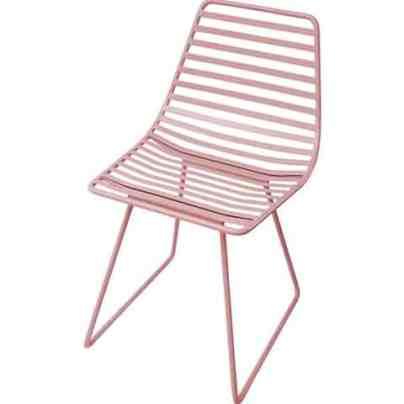Sebra Pink Chair