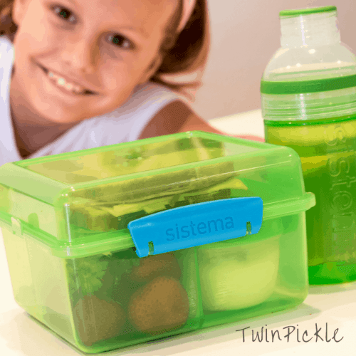 Sistema Lunchbox Kit with Bottle Folded