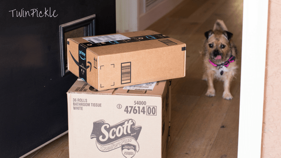 Back to School Mom Chaos Amazon Delivery