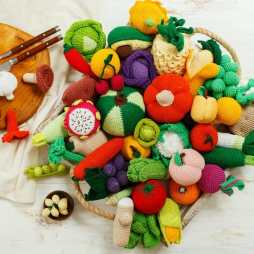 Crocheted Toy Food