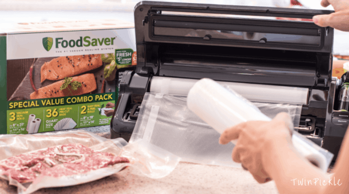 Buying and storing meat in bulk with Foodsaver System #shop