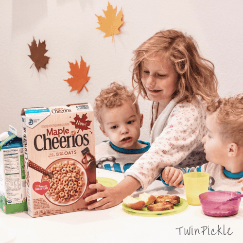 Social Influencer Mom Cheerios