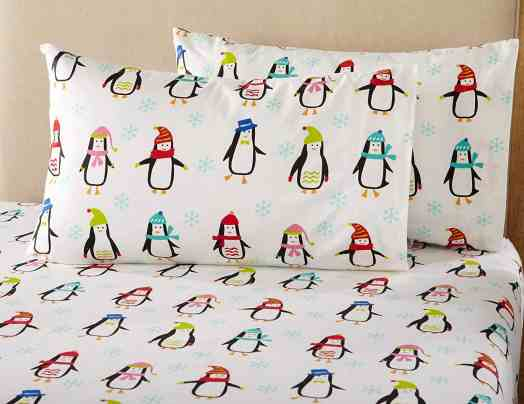 Penguin Christmas Kids' Bedding