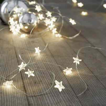 Star Fairy Lights - The White Company