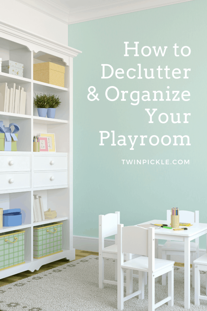 How to Declutter & Organize Your Playroom Design & Storage