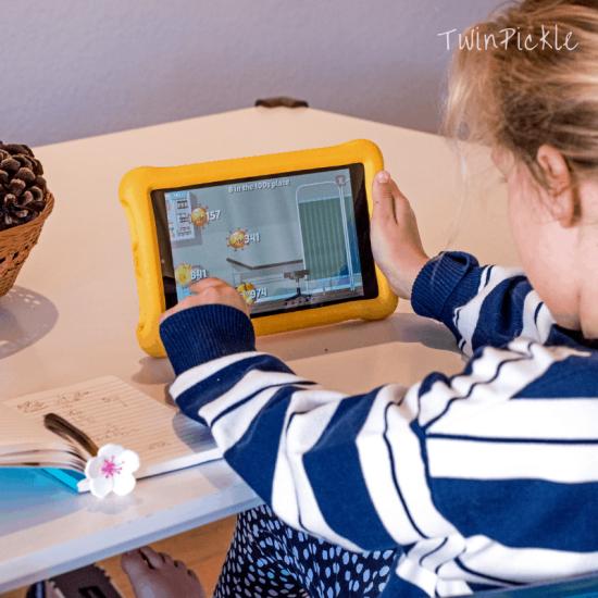 Setting screen time limits educational goals
