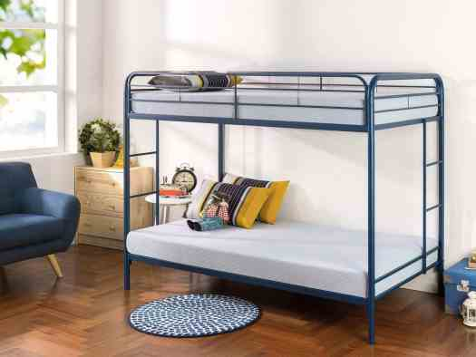 Zinus Navy Bunk Beds