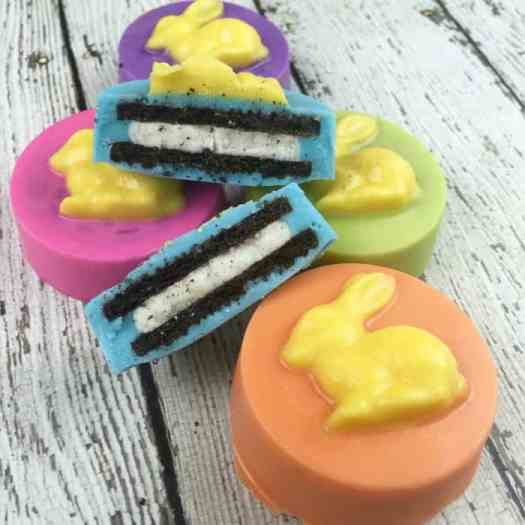 Easter bunny oreo cookie candy