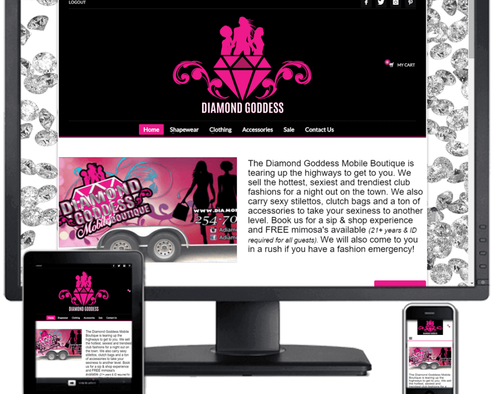 Diamond Goddess Mobile Boutique