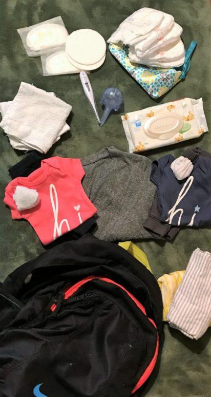 Diaper bag essentials for twins