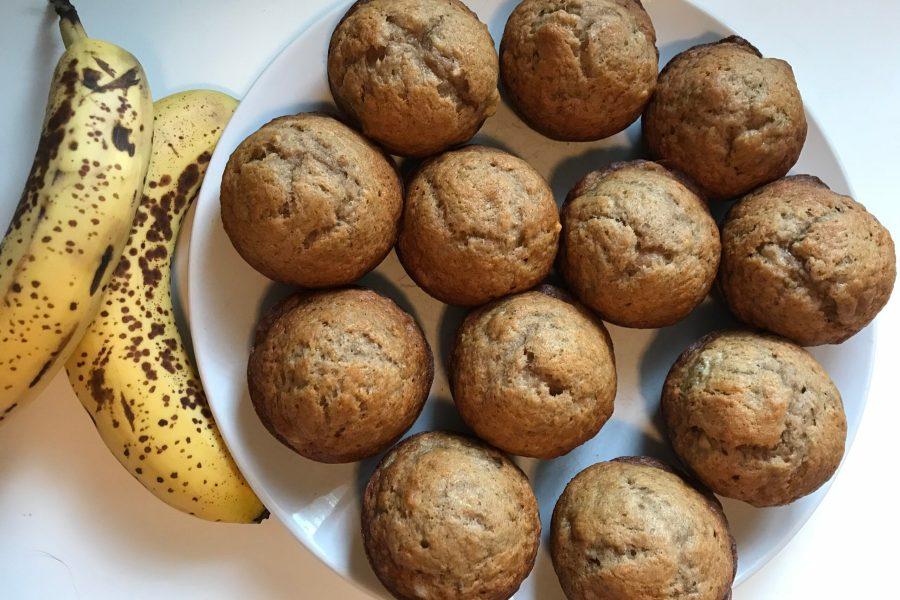 simple banana bread muffins