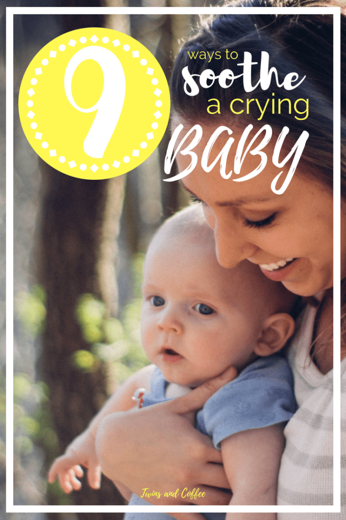 nine ways to soothe a crying baby
