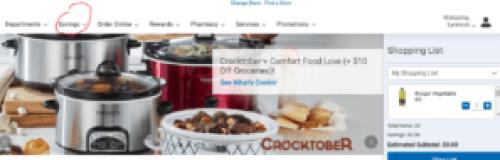 clicklist first step savings center