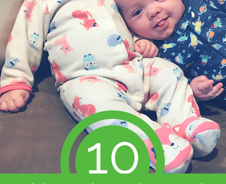 10 Things I have Learned Since Having Newborn Twins