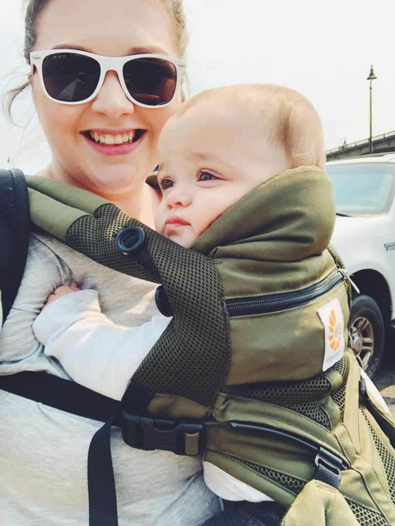 Why I baby wear with ergobaby carriers