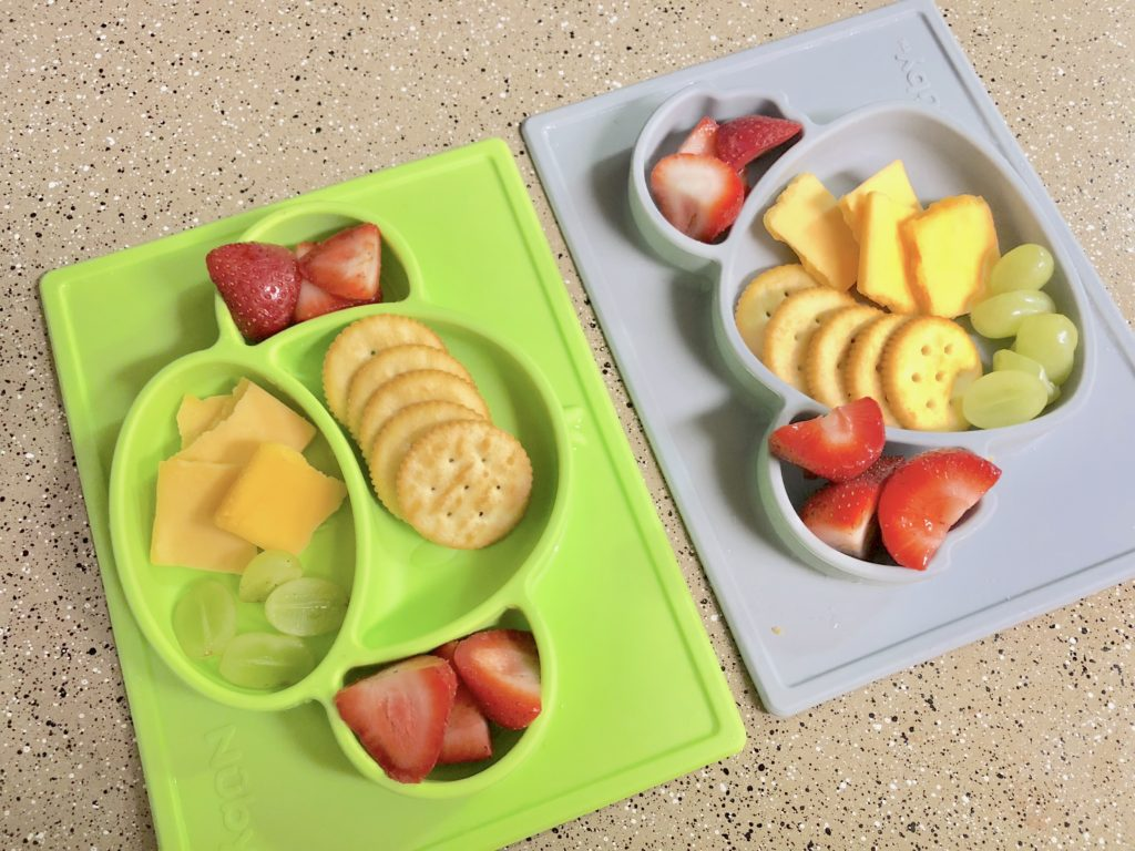 seven ideas, full week of lunch ideas for one year old toddlers that are quick and easy for at home or on the go