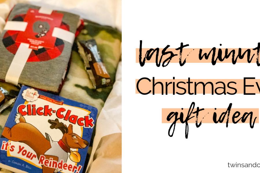 last minute christmas eve gift idea