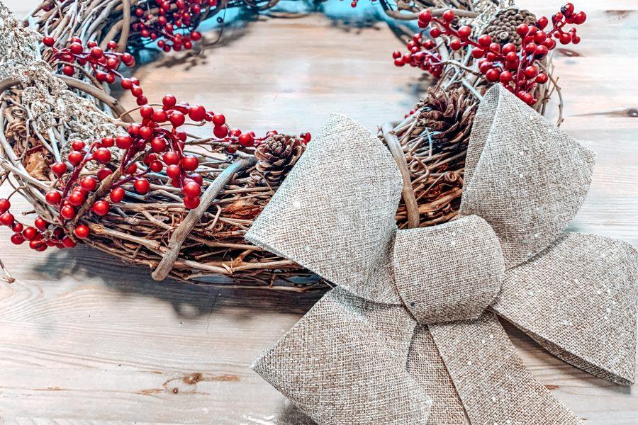 diy wreath hack