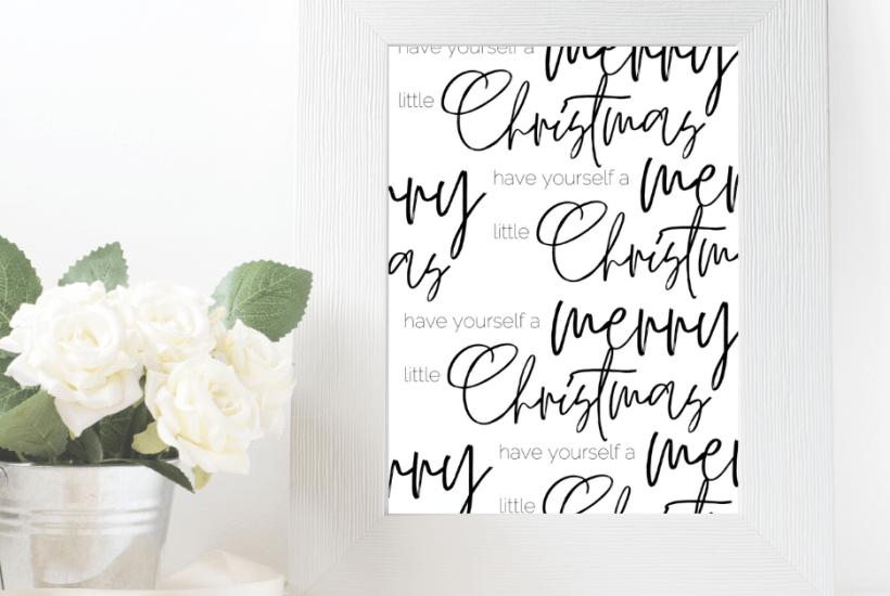 printable holiday signs