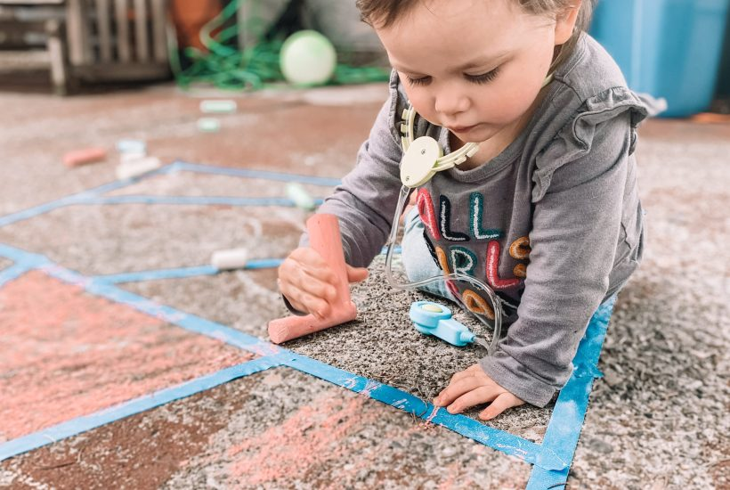 backyard toddler play ideas
