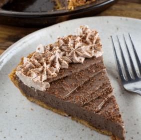 Chocolate Peanut Butter Cheese Pie