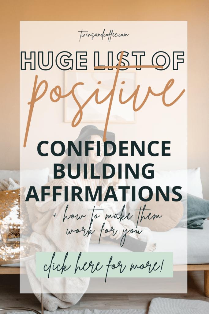 self love affirmations list