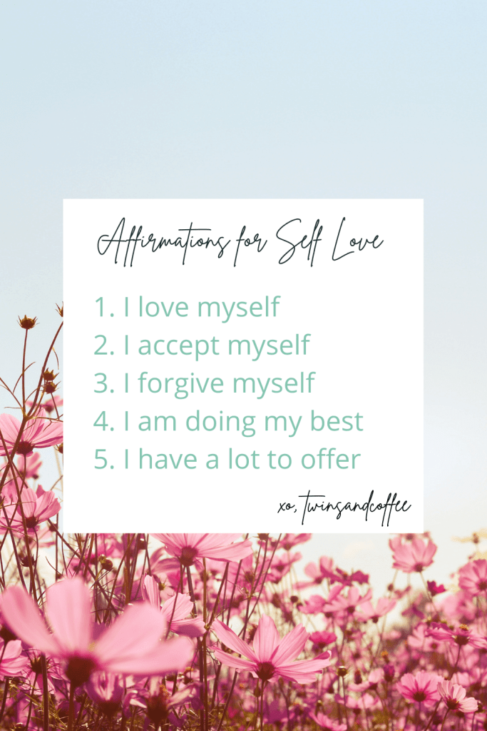 affirmations for self love copy