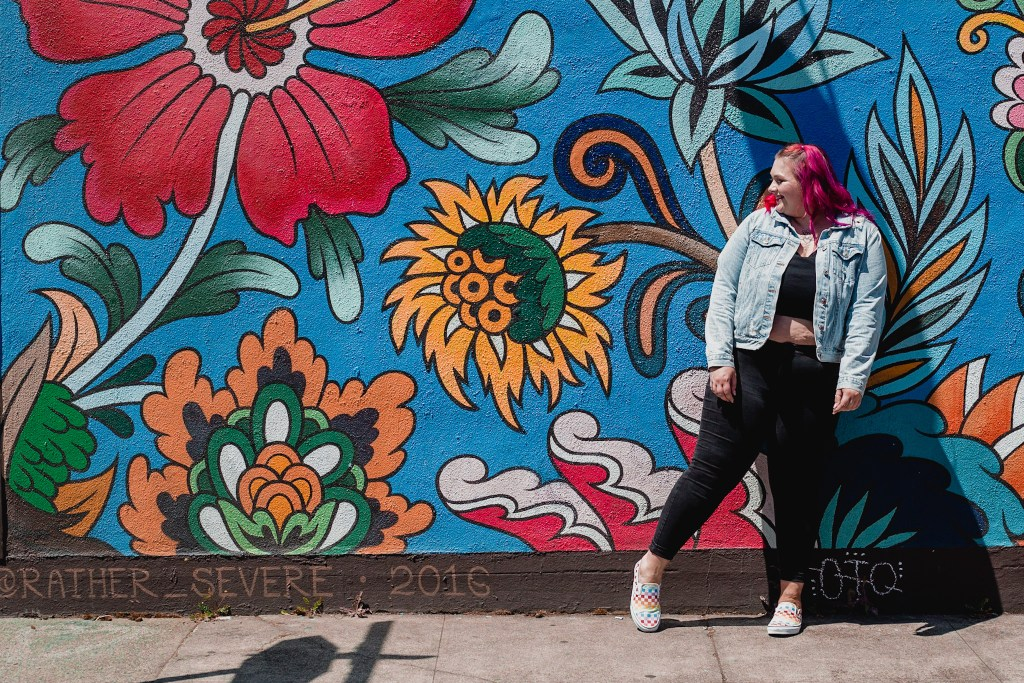 best portland wall murals for instagram worthy photoshoot pictures