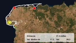 Ruta del norte de Menorca, los clientes han visitado la bahia de Cala Morell, la playa de La Vall y es Bot y luego fueron hasta cala Pilar una playa nudista de encanto