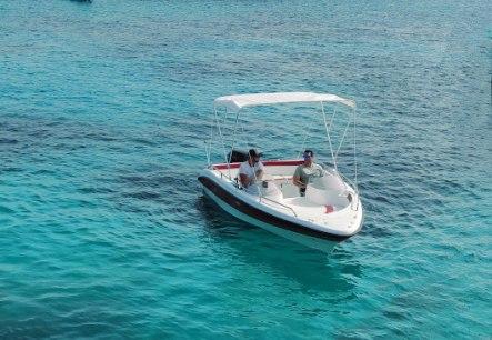 Barco de alquiler en ciutadella de menorca
