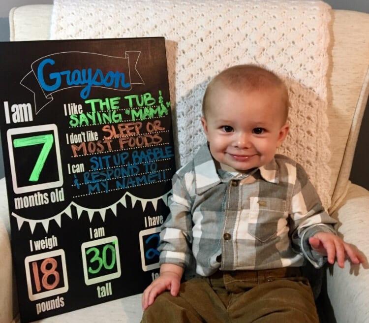 Seven Months Milestones