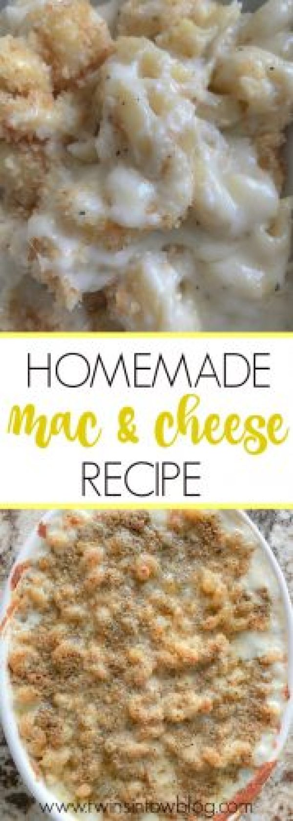 homemade mac and cheese