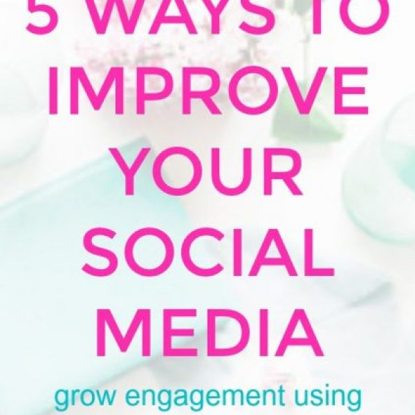 5 Ways to Improve Your Social Media Engagement