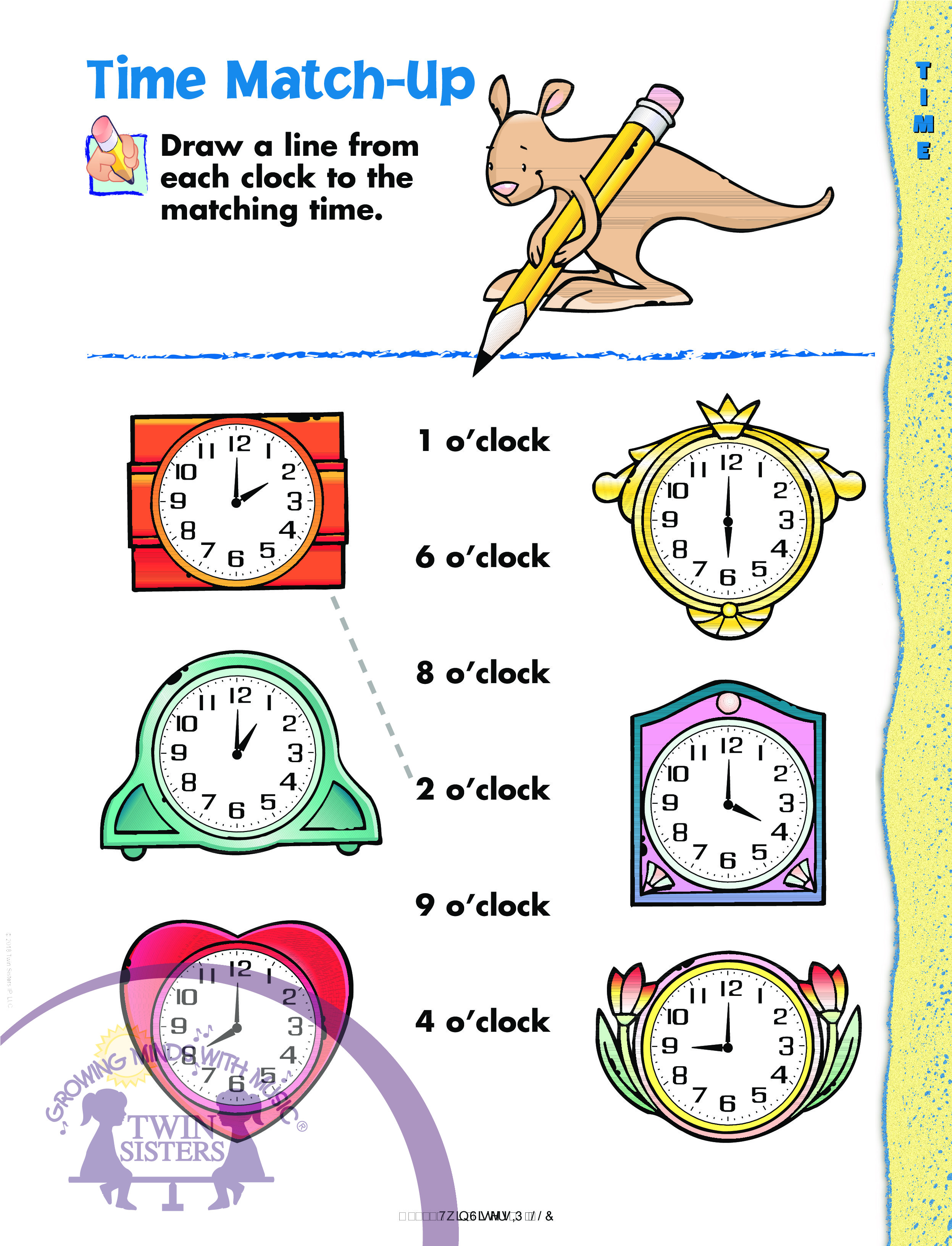 Kindergarten Learning Time
