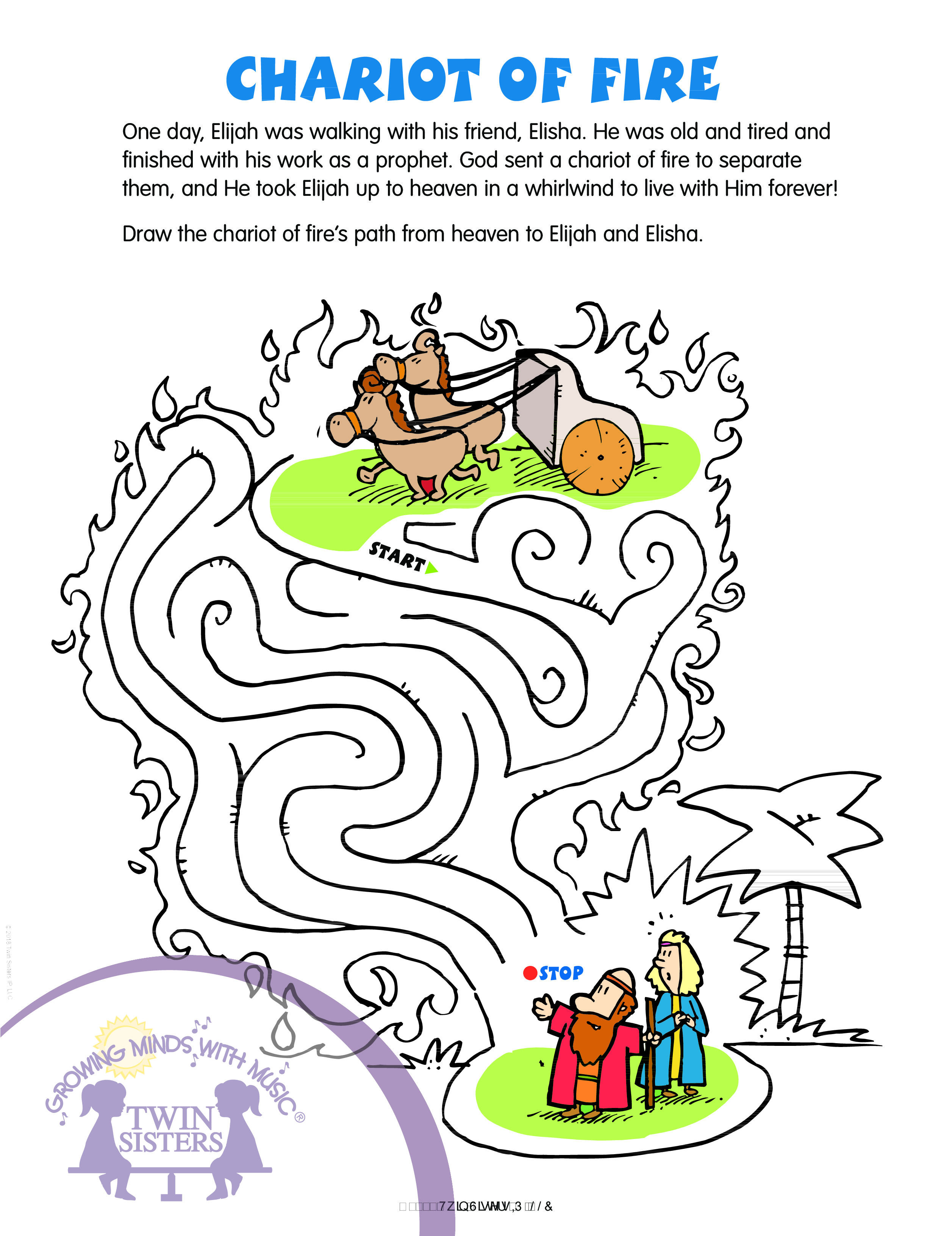 My First Bible Story Mazes Volume 3