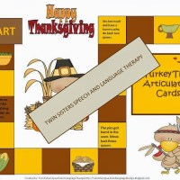 Turkey Time Articulation Document Giveaway!!