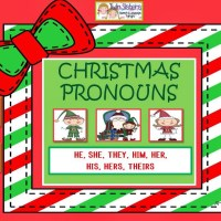 Christmas Pronouns:he, she, they, him, her/s, his, their/s