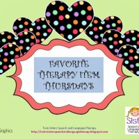 Favorite Therapy Item Thursday Guest Post by Abby From Schoolhouse Talk:  Lego & Duplo Blocks