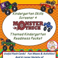Giveaway time!  You could win a free Kindergarten Screener and Awesome Kindergarten Readiness Packet!